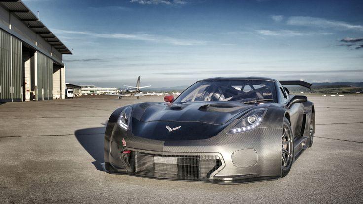 Callaway Corvette C7 GT3-R front 3/4