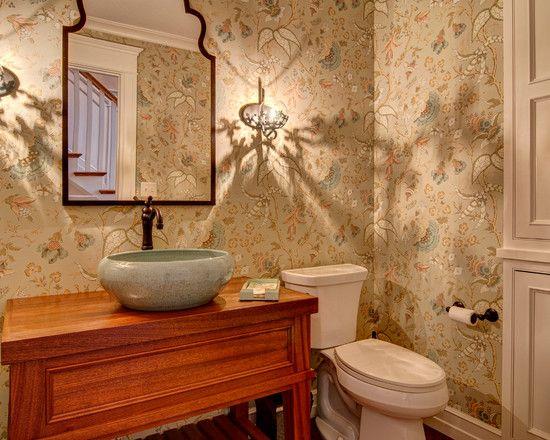 Badezimmer tapete ~ Badezimmer grau beige spektakuläre tapete für badezimmer