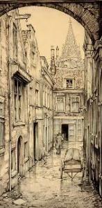 'boterstraat, Den Haag' van Pieck, Anton