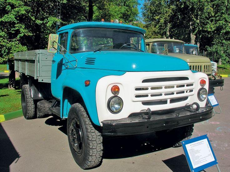 ЗиЛ-130:советский грузовик с американскими корнями :: Развлекательный портал. Centra