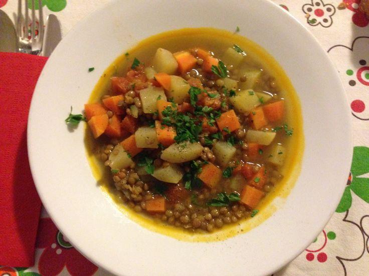 """Zuppa di lenticchie alla marocchina: """"Laadass"""""""