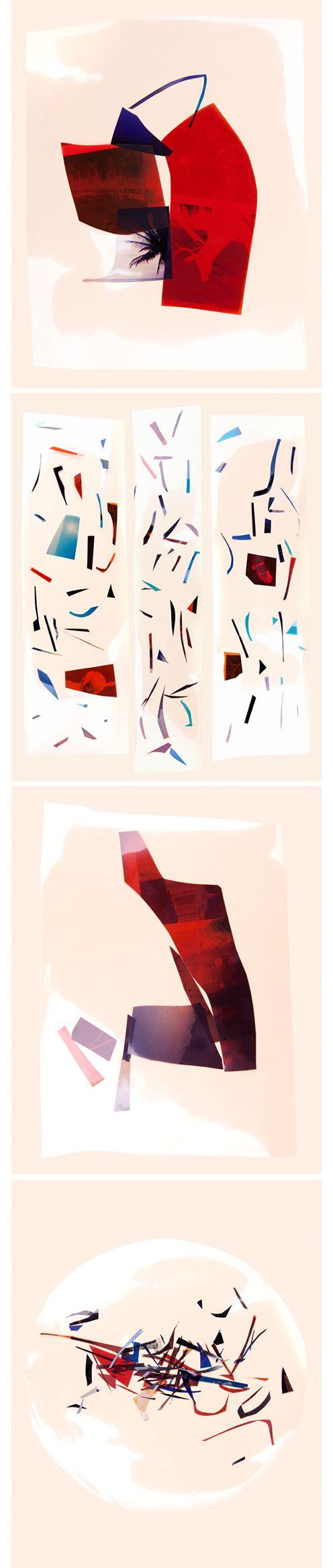 Brea Souders    via http://breasouders.com/Art Work, Http Breasoud Com, Painting Art, Cut Film, Brea Souders, Graphics Design, Paper Planes, Http Breasouders Com