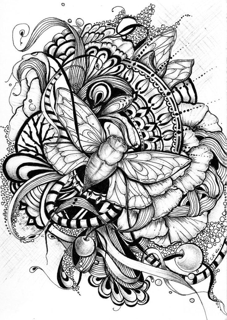 601 best zentangles images on pinterest mandalas doodles and doodles zentangles. Black Bedroom Furniture Sets. Home Design Ideas