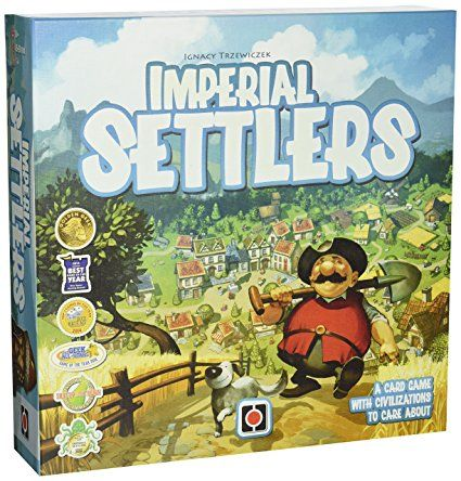 Everest Imperial Settlers Board Game