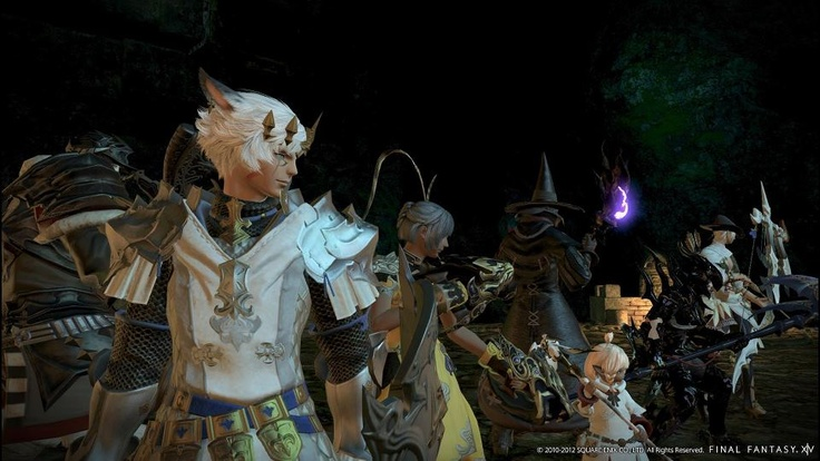 FINAL FANTASY XIV: A Realm Reborn Closed Beta Phase 2 Now Underway. I bet my stupid video card won't make specs though.