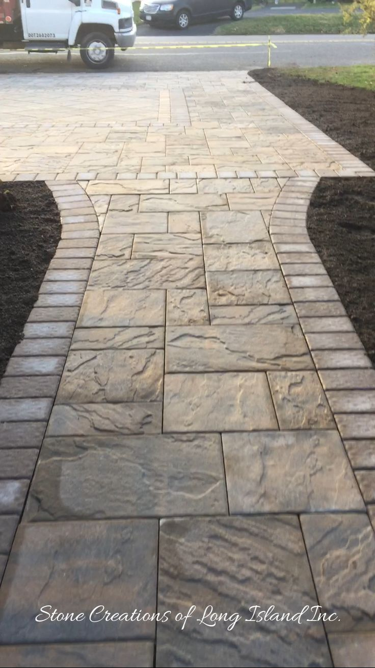Best 25+ Paver Stones Ideas On Pinterest | Backyard Pavers, Cost Of  Concrete Driveway And Backyard Renovations