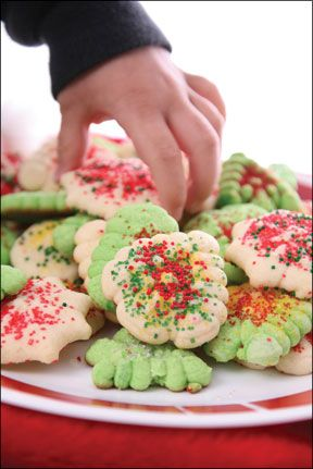 """Gluten-Free Holiday Cookies: Melt-in-Your-Mouth Sugar Cookies, """"Buttery"""" Spritz Cookies, Old-Fashioned Ginger Snaps, Chocolate Thumb Print Cookies, Mexican Wedding Cookies"""