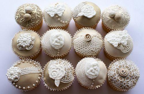 Best 25 Vintage Cupcake Ideas On Pinterest Lace