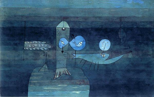 03 Avril - Paul Klee - Un bon endroit pour pécher (1920)