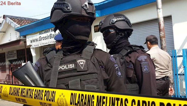 Teroris yang Ditangkap di Tangsel Penggalang Dana untuk Gabung ISIS