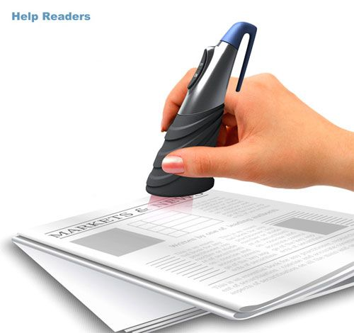 Help Readers device - converts text to audio