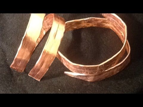 How To Create a Hammered Knitting Needle Bracelet - DIY Style Tutorial - Guidecentral - YouTube