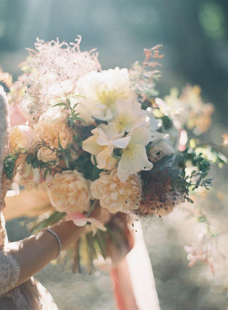 Fall Bouquet Jen Huang Photography/smoke bush Camellia Floral Design