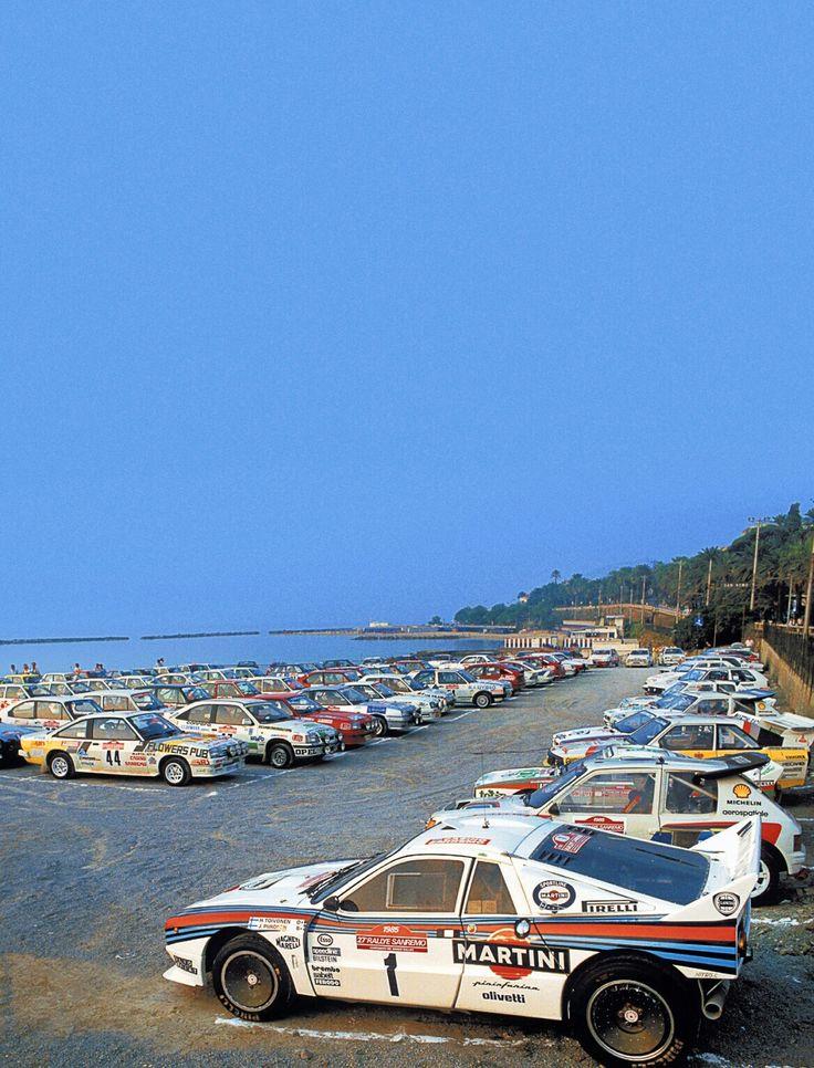 Rally Sanremo 1985
