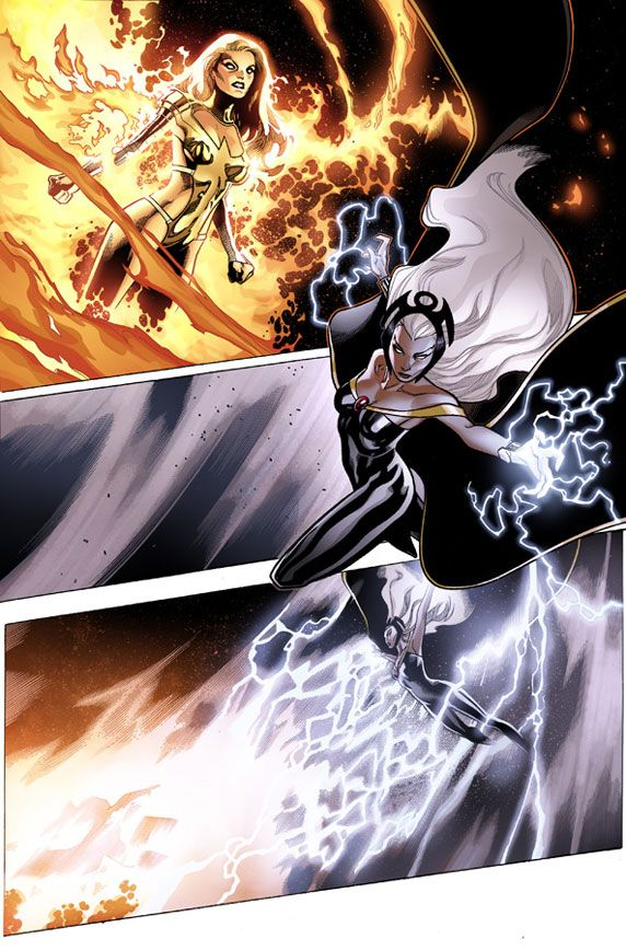 AVENGERS VS. X-MEN #11 (JUL120528)    Written by BRIAN MICHAEL BENDIS    Penciled by OLIVIER COIPEL    Cover by JIM CHEUNG    FOC – 8/20/12, ON-SALE – 9/12/11. Beautiful!