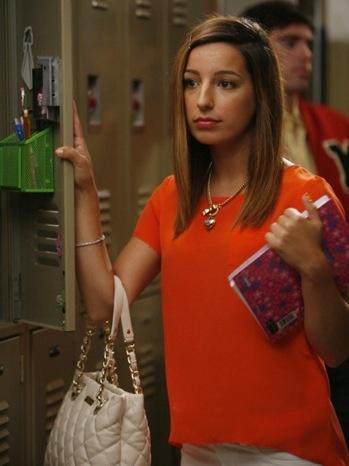 Sugar Motta played by Vanessa Lengie