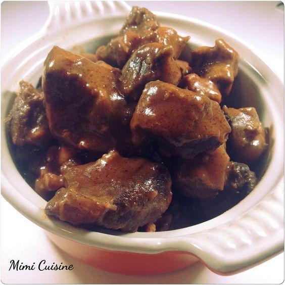 Goulasch de bœuf Recette Cookeo de chez Moulinex. Retrouvez pleins de recettes faites au Cookeo sur mon site Mimi Cuisine