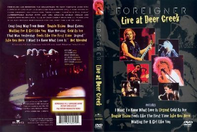DVD - LIVE AT DEER CREEK CENTER NOBLESVILLE, INDIANA 19.06.1993 THE VERY BEST AND BEYOND TOUR OFFICIAL DVD - 73 MINUTES INCLUDING MENUE