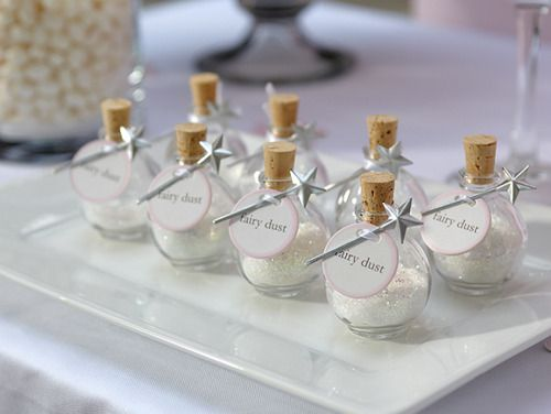 """Fairytale """"fairy dust"""" Wedding Favors Fill with stuff you put in the bath tub (whatever that's called)?"""