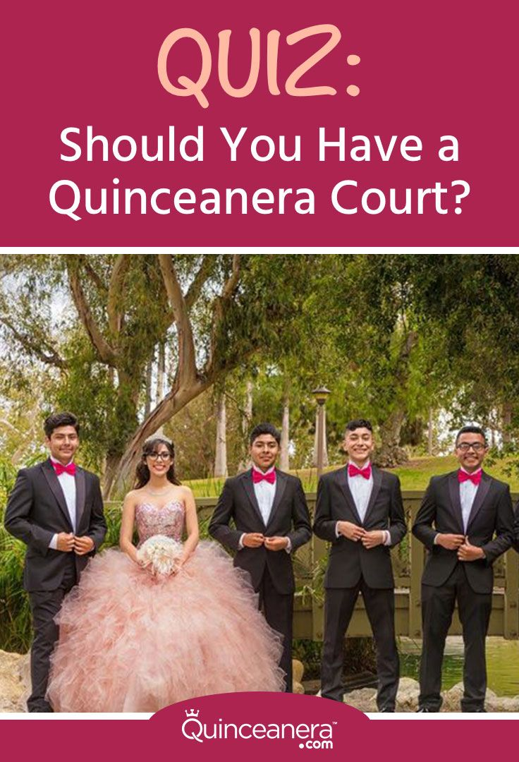 Before you begin selecting your court, take this quiz to find out if you have what it takes to run a quinceanera court smoothly.