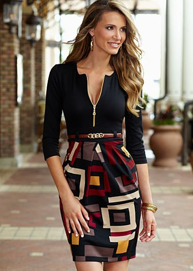 I got this dress to add to my professional attire. For my MBA presentations :)