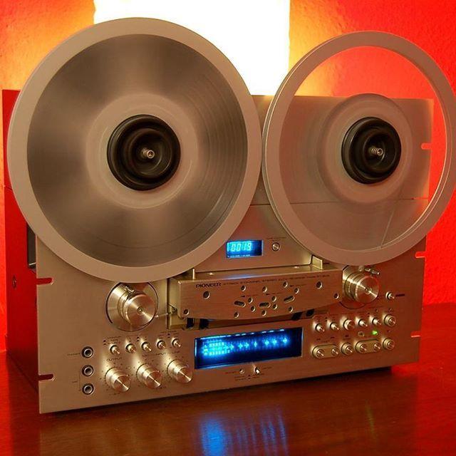 Vintage audio pr0n. Pioneer RT-909