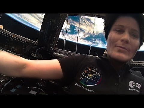 7 HOLES in the Space Station - Smarter Every Day 135 - YouTube