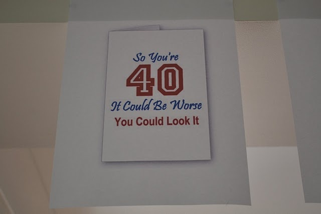 Love this for anyone turning 40, 50, 60, 70....