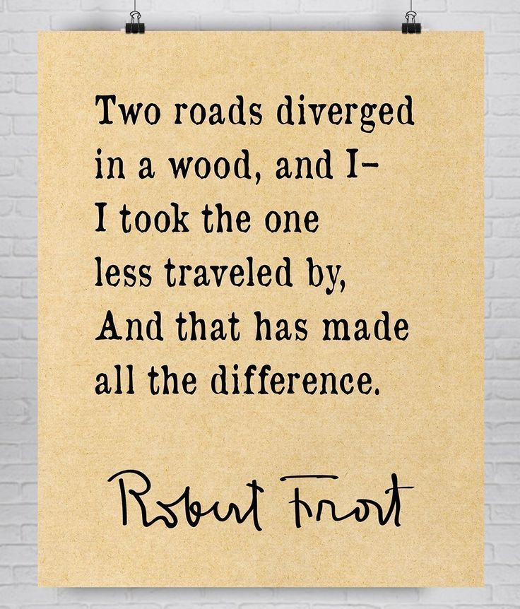 The Road Not Taken Poem By Robert Frost Quiz