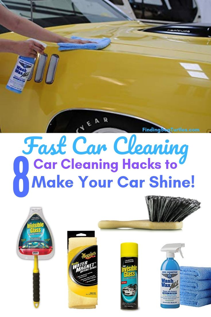 8 Fast Car Cleaning Products To Make Your Car Shine Car Cleaning