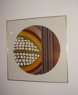 Mirrored graphic art by Greg Copeland from the 1970s  http://www.xxesieclegalerie.com/pages/tableaux.php