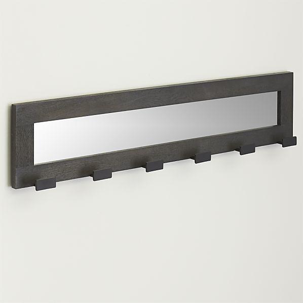 Best 25 wall mounted coat rack ideas on pinterest diy - Crate and barrel espana ...
