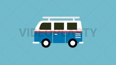Volkswagen Van Flat Icon