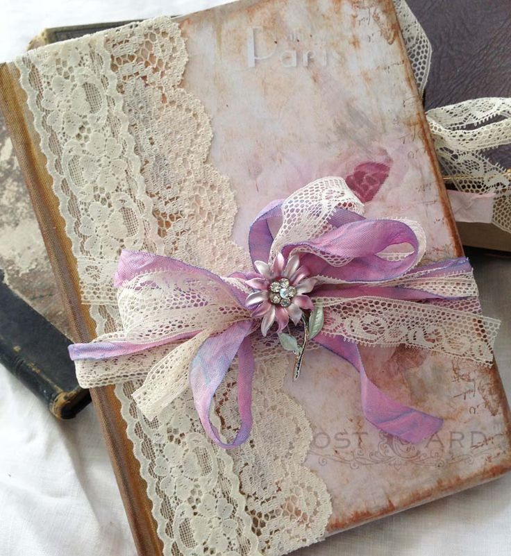 Instead of buying a traditional guest book, I think I already have a book of handmade paper that might be nice to use.