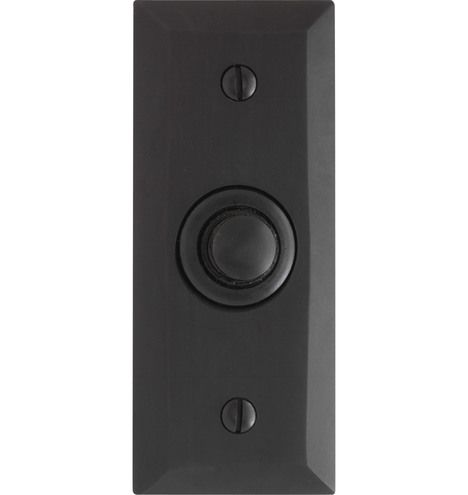 Putman Doorbell Button Oil-Rubbed Bronze C3735