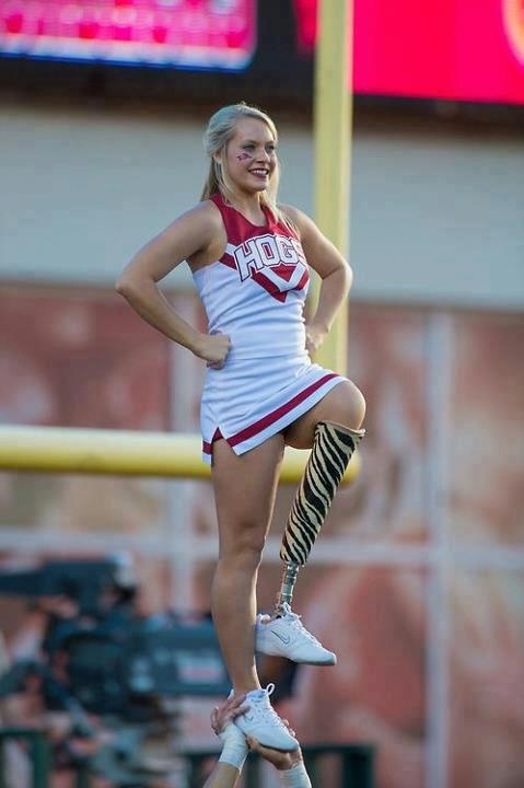 cheer stunt. this made my day. you go girl!