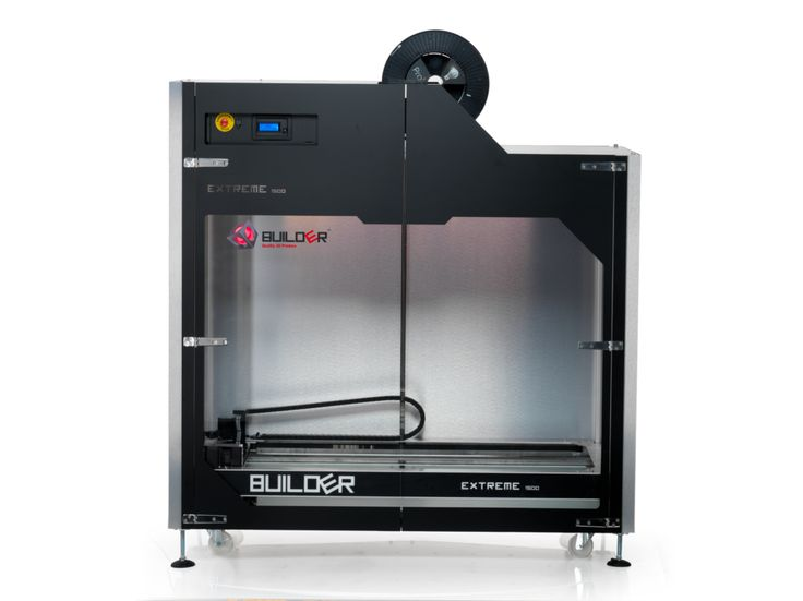 Builder 3D Printers Launches Massive Extreme 1500 Industrial Printer — #3DPrinting