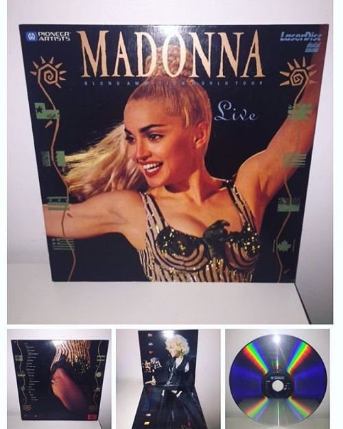 Blond Ambition World Tour Live USA laserdisc. #Madonna #madonnacollector #blondambition #madonnacollection #madonnafans #madonnarecords #1990 #cdcollection #vinyl #vinylcollection #vinyljunkie #90s #vinylcommunity #music #queenofpop #vinyladdict #recordcollector #records #instavinyl #discography #photooftheday #nowplaying #instalike #instagay #vinylgram #collection #cdcollector #audiophile #rebelheart #musiccollection @madonna via Audiophiles on Instagram - Best Sound Quality Audiophile…