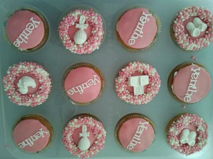 Geboorte cup cakes