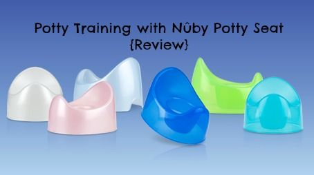 Potty Training with Nûby Potty Seat {Review}