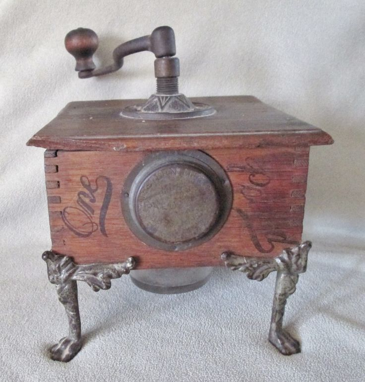 Antique Coffee Grinder. Rare. Western Mfg. Co. Pittsburg PA.Pat.Oct 5, 1886-1895  Offered by #ButterflyMtnEmporium on Bonanza.com