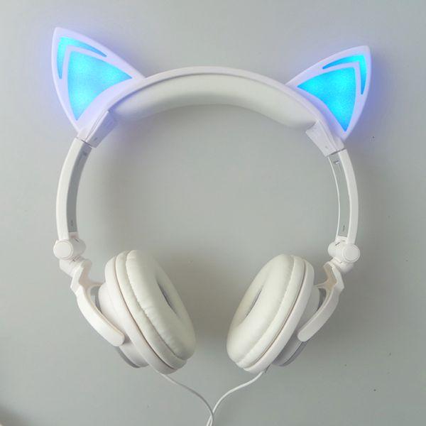LED Katzen Ohr Kopfhörer