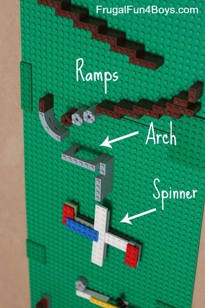 how to make a Lego Marble Run - great learning with Lego activity