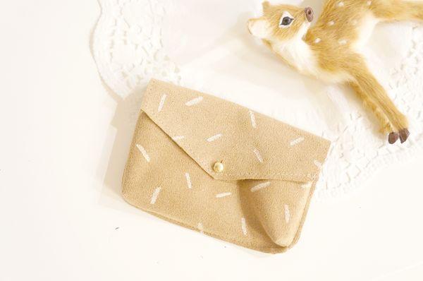Des petites pochettes en cuir - DIY