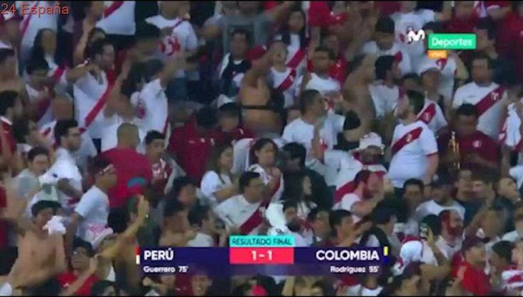 Peru vs Colombia partido completo - martes 10 octubre 2017
