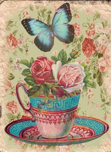 ♡.✿ི♥Коллажи. Для чайных домиков и чайных шкатулок.♡.✿ི♥. Обсуждение на LiveInternet - Российский Сервис Онлайн-Дневников