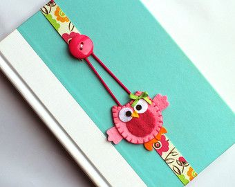 Extra LARGE Paperclip Bookmark Puppy Dog Bookmark by BabyWhatKnots