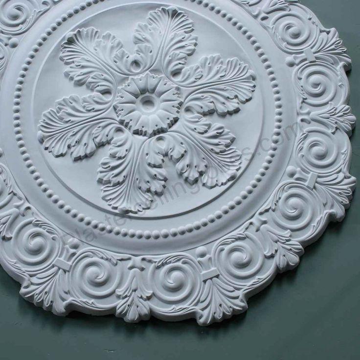 Victorian Sunburst Plaster Ceiling Rose 850mm dia. LPR014