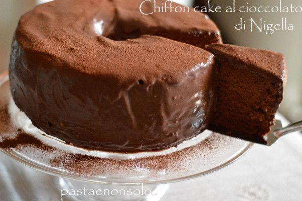 Chiffon cake al cioccolato di NigellasepPasta e non solo