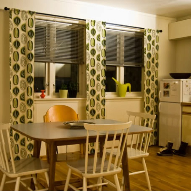 Venetian blinds with curtains | New House | Pinterest